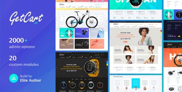 GetCart - Highly Customizable Multi-Purpose Opencart 3 Theme