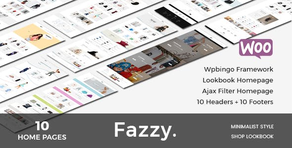 Fazzy - Responsive WooCommerce Fashion Theme