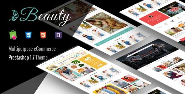 Beauty - Modern Responsive PrestaShop 1.7  Fashion Theme