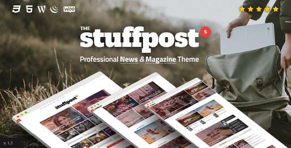 StuffPost - Professional News & Magazine WordPress Theme