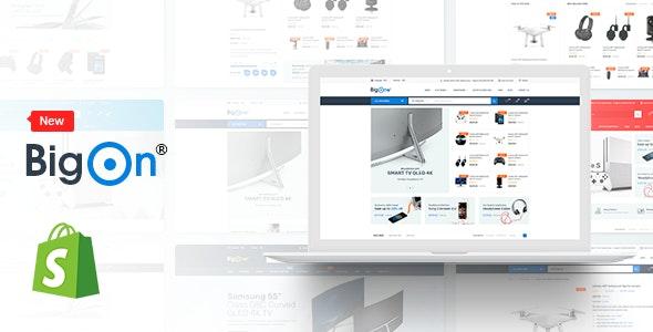 Electronics Shopify Theme - BigOn - Shopping Shopify