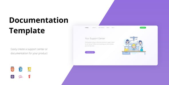 TheDocs - Online Documentation Template