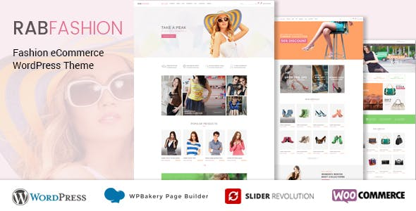 RAB - Fashion eCommerce WordPress Theme