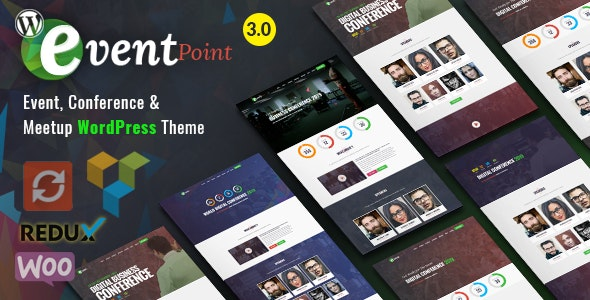 Event Point - Event, Conference & Meetup WordPress Theme - Events Entertainment