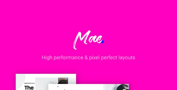 Mae - A Gutenberg & WordPress Theme for Events, Conferences and Seminars