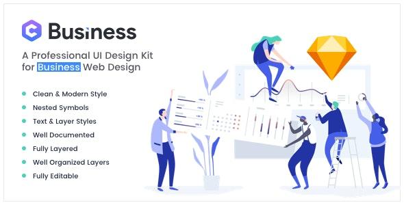 Yosemite - Business Sketch App Template - Business Corporate