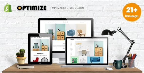 Optimize - Minimalist Shopify Theme For Furniture, Home Decor, Interior & Gift Shop - Shopping Shopify