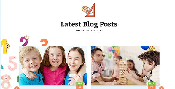Childhood - Children/Daycare HTML Template