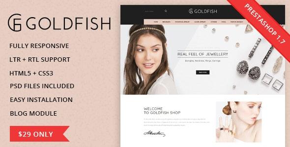 Goldfish - Responsive Prestashop 1.7.3.x Theme - Fashion PrestaShop
