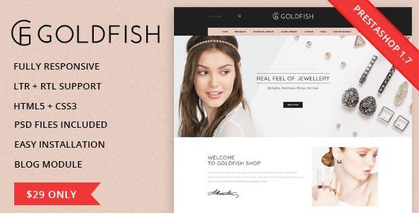 Goldfish - Responsive Prestashop 1.7.3.x Theme