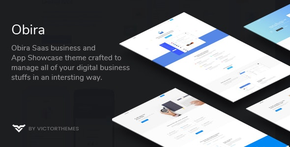 Obira - SaaS Business & App Showcase WordPress Theme - Software Technology