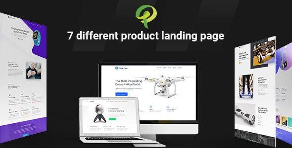 Prohub - Multipurpose & Corporate Product Landing Page Template - Marketing Corporate