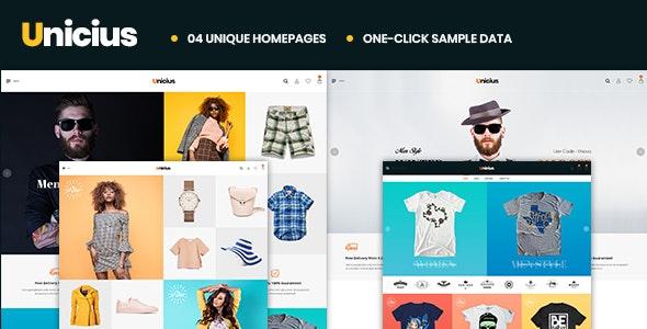 Unicius – Fashion, Clothing & Accessories PrestaShop 1.7 Theme - Fashion PrestaShop