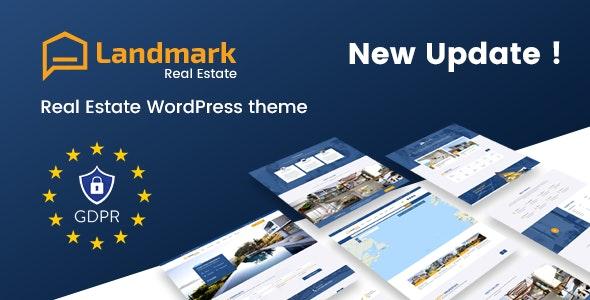 Landmark - Real Estate WordPress Theme - Real Estate WordPress
