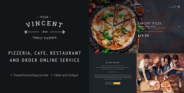 Restaurant | Vincent Restaurant WordPress for Restaurant