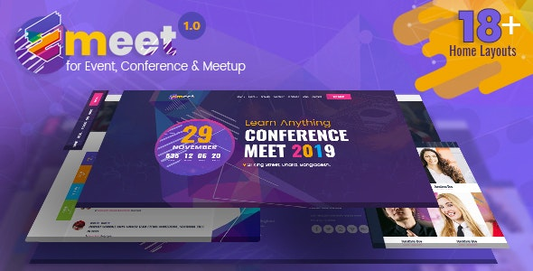 Event HTML |  Emeet for Event, Conference and Meetup - Events Entertainment