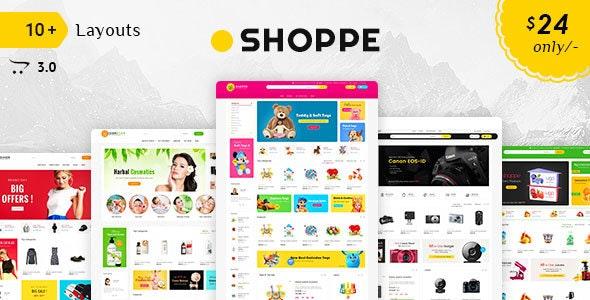 Shoppe - Opencart 3 Multi-Purpose Responsive Theme - Shopping OpenCart