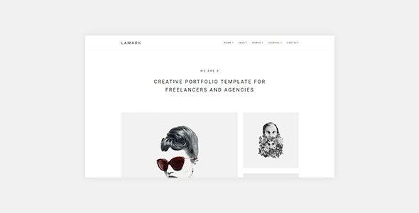 Lamark - Freelancers and Agencies Portfolio WordPress Theme for Elementor - Portfolio Creative