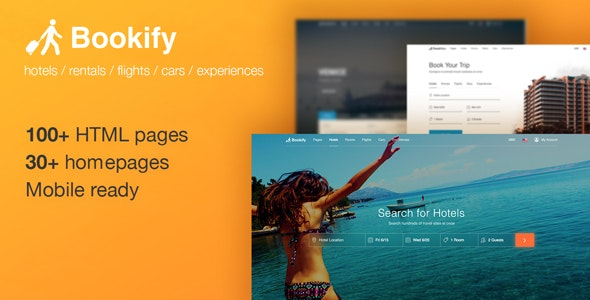 Bookify - HTML Booking Template With Unlimited Possibilities - Travel Retail