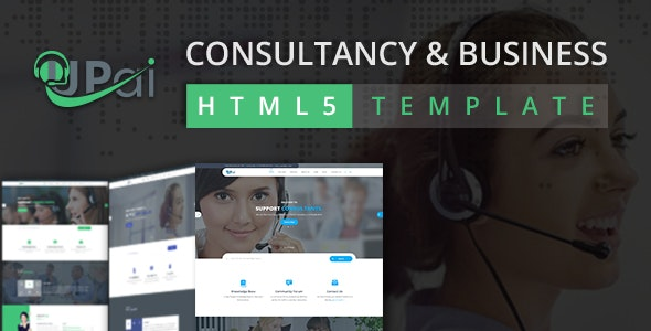 Upai - Consultancy and Business HTML5 Template - Business Corporate