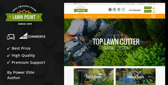 Lawn Point - Multipurpose Stencil BigCommerce Theme - BigCommerce eCommerce