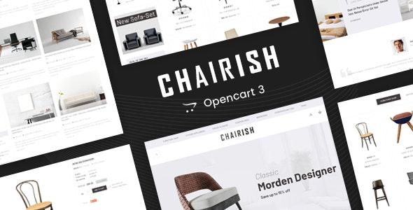 Chairish - Multipurpose OpenCart 3 Theme - Fashion OpenCart