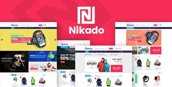 Nikado - Sports Clothing & Equipment Store HTML Template - Shopping Retail