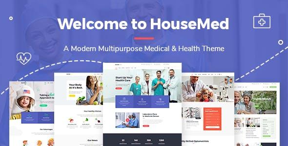 HouseMed -  Medical and Health Theme