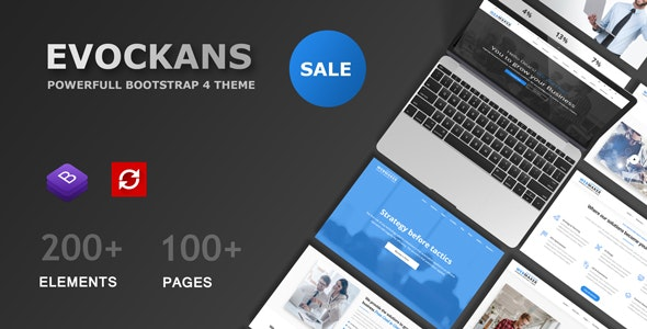 Evockans Multi-Purpose Business Template - Business Corporate