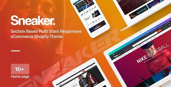 Sneaker - Multipurpose, Fashion, Shoes Responsive Shopify Theme - Fashion Shopify