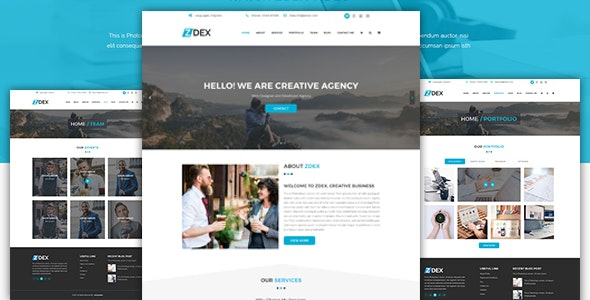 Zdex Multipurpose Business and Agency Template - Business Corporate