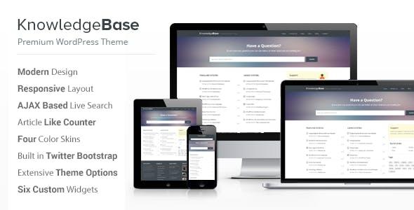 Knowledge Base - A WordPress Wiki Theme