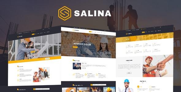 Construction HTML Template - Salina - Business Corporate