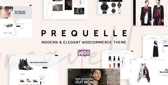 Prequelle - Elegant and Modern WooCommerce Theme - WooCommerce eCommerce