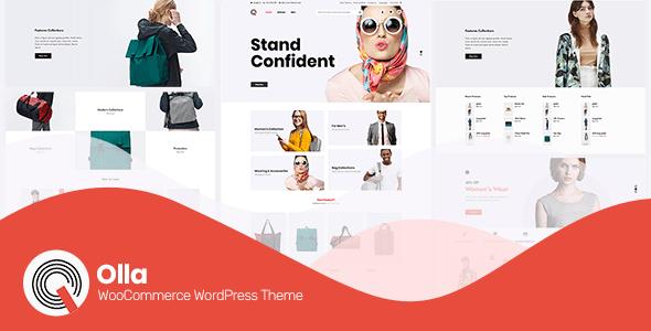 Olla ~ Modern WooCommerce WordPress Theme - WooCommerce eCommerce