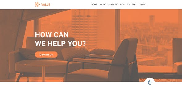 Value - Creative Corporate PSD Template