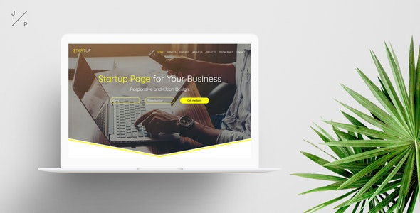 STARTUP - Business Muse Template - Corporate Muse Templates
