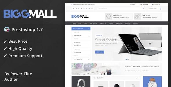 BiggMall - Responsive Prestashop 1.7 Theme - Shopping PrestaShop