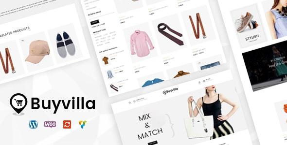 Buyvilla - Multipurpose WooCommerce Theme - WooCommerce eCommerce