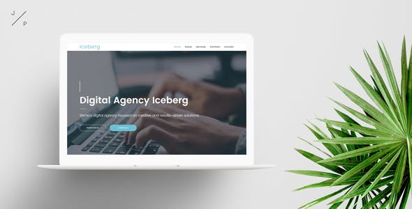 Iceberg - Digital Agency Muse Template