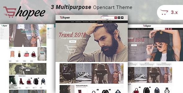 Shopee - Multipurpose Responsive Fashion Opencart 3 Theme - Fashion OpenCart