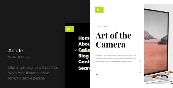 Vertical Scroll WordPress Themes from ThemeForest