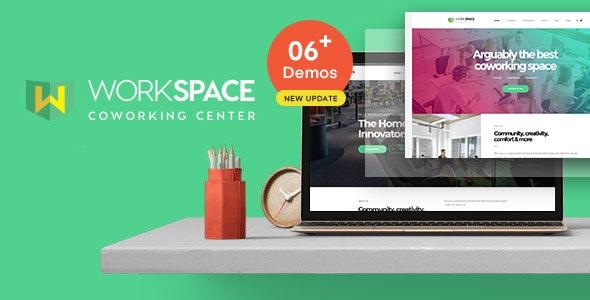 Workspace - Creative Office Space WordPress Theme - Business Corporate