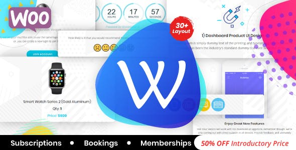 WooPro   WooCommerce Responsive Email Template + Subscriptions + Bookings + Memberships Compatible