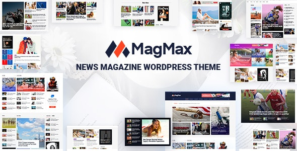MagMax - News Magazine WordPress Theme - News / Editorial Blog / Magazine