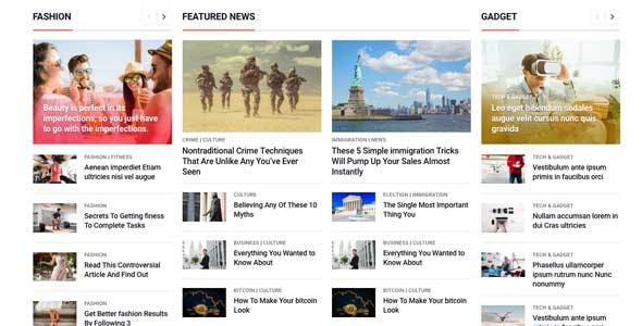 MagMax - News Magazine WordPress Theme