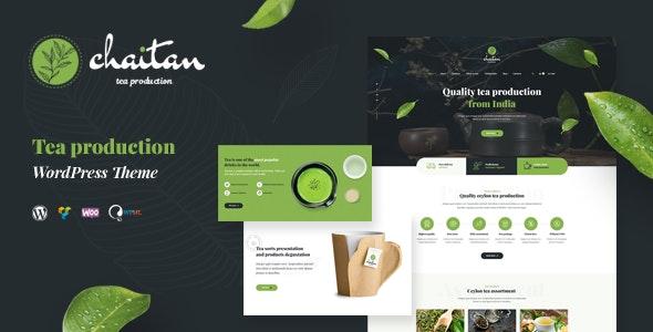 Chaitan - Tea Production Company & Organic Store WordPress Theme - Food Retail