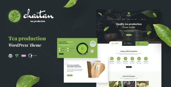 Chaitan - Tea Production Company & Organic Store WordPress Theme