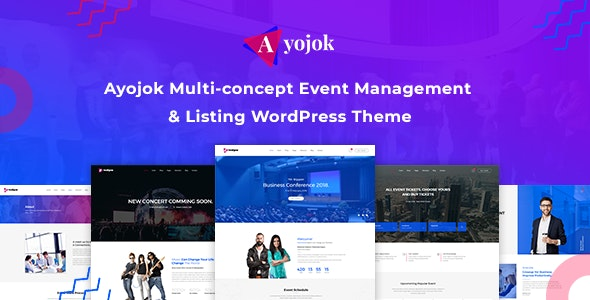 Ayojok - Event WordPress Theme - Events Entertainment