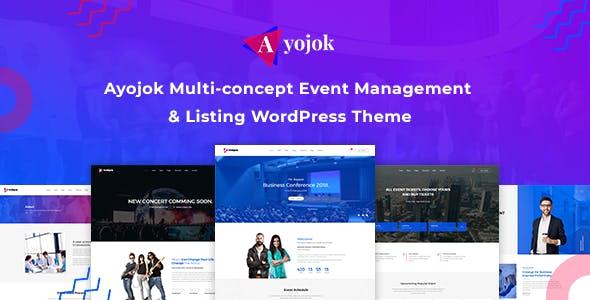 Ayojok - Event WordPress Theme